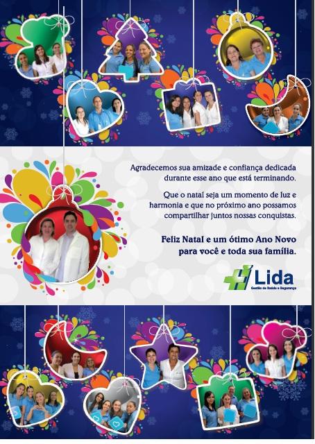 Cartão de Natal Lida 2011