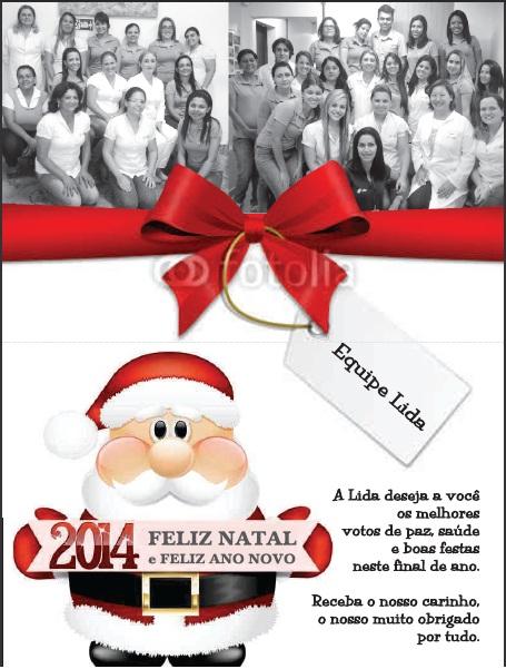 Cartão Natal Lida 2013