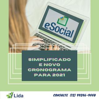 eSocial Simplificado terá novo calendário em 2021