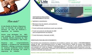 Implantamos mais funcionalidade no encaminhamento via site www.lidaexames.com.br