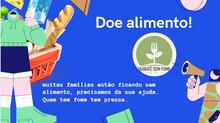 CAMPANHA PARA ARRECADAÇÃO DE ALIMENTOS