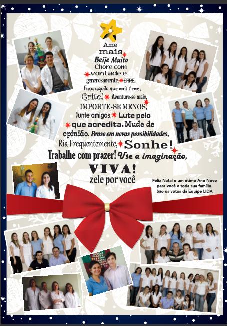 Cartao Natal Lida 2012