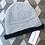 Thumbnail: Bonnet in Baby alpaca in grey