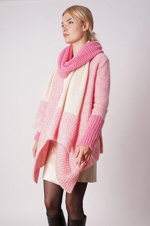 Cardigan Mohair in Rose/Pink