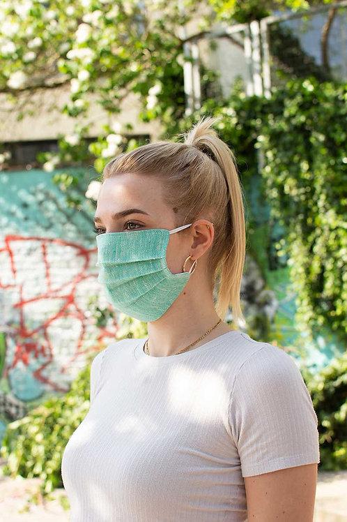 Face Mask Linnen in Mint