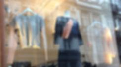 CONNI KAMINSKI AW18 BRUSSELS BEGIUM FASHION DESIGNER DRAPING WINDOWDISPLAY