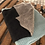 Thumbnail: Scarf in Mohair -Mint/Beige