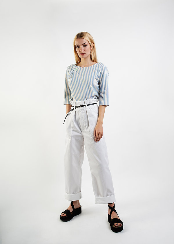 Conni-Kaminski-SS20-white pants-striped