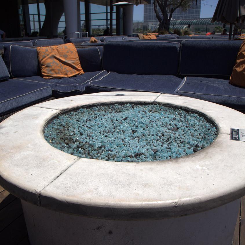 Hard Rock San Diego Rooftop Pool & Bar seating