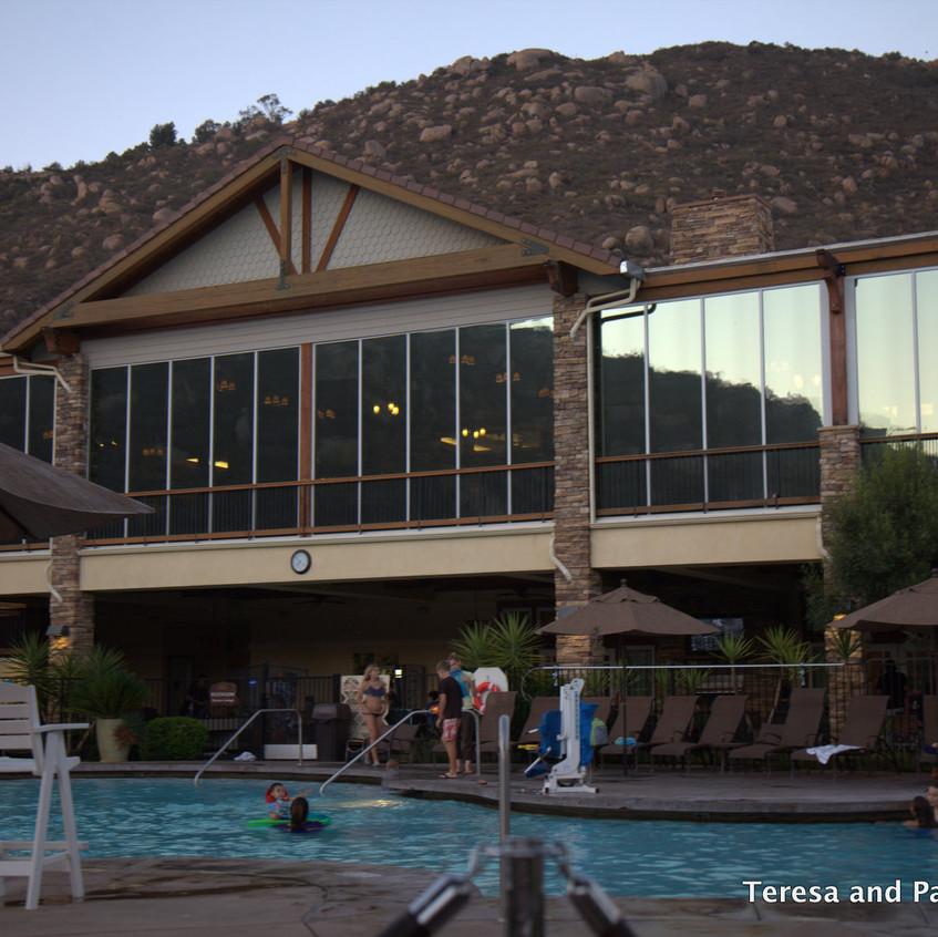 Mountain Villa Pool at Welk Resort San Diego