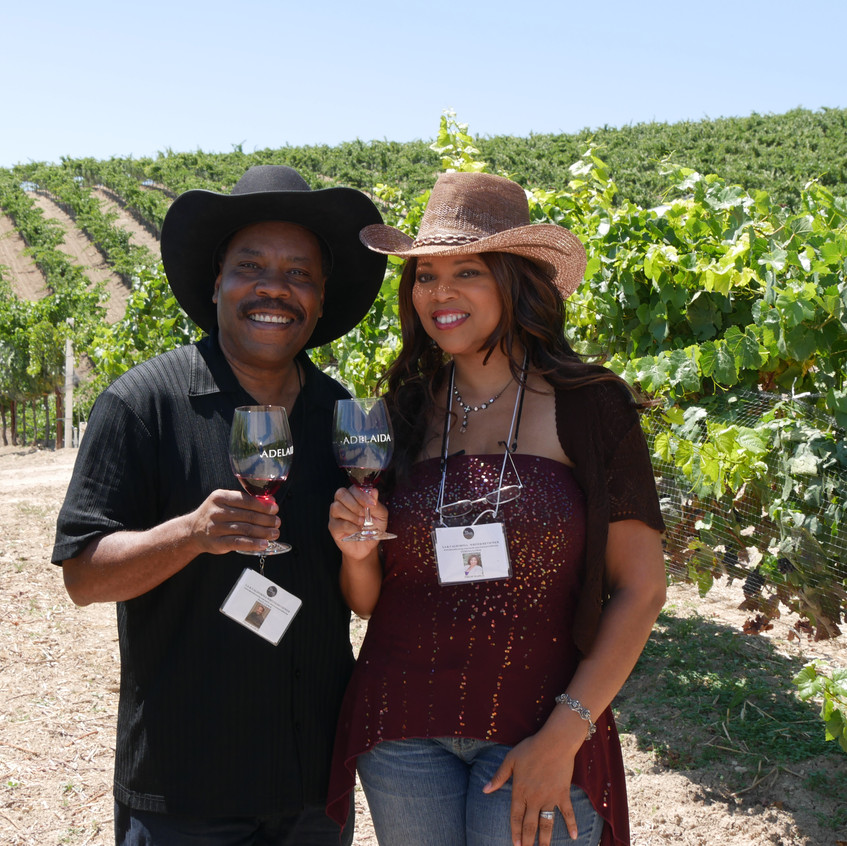 The Lowe's Visit Paso Robles Winery, CA