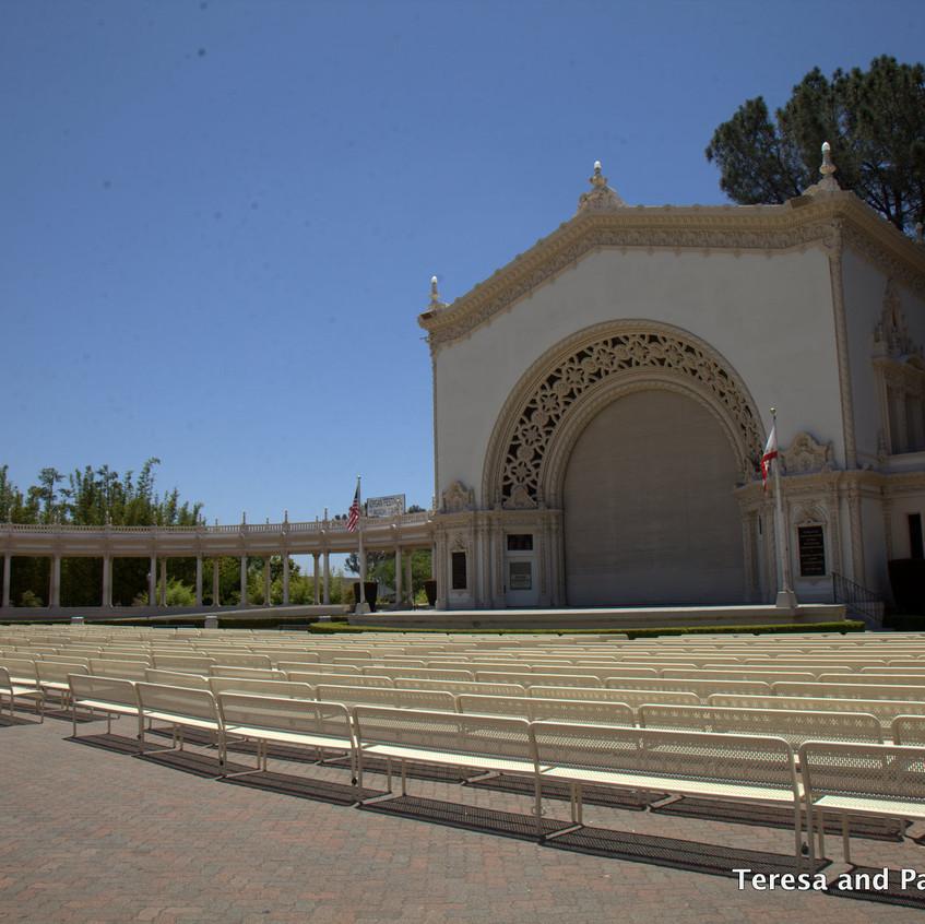 Balboa Park San Deigo outdoor theater