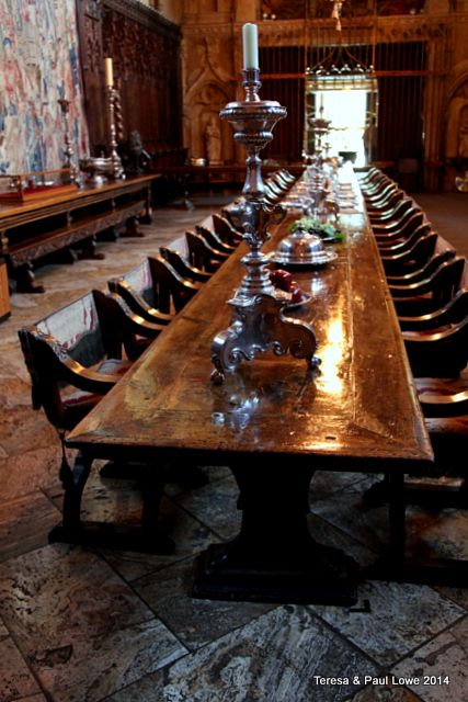 Formal Dining Room at Hearst Castle