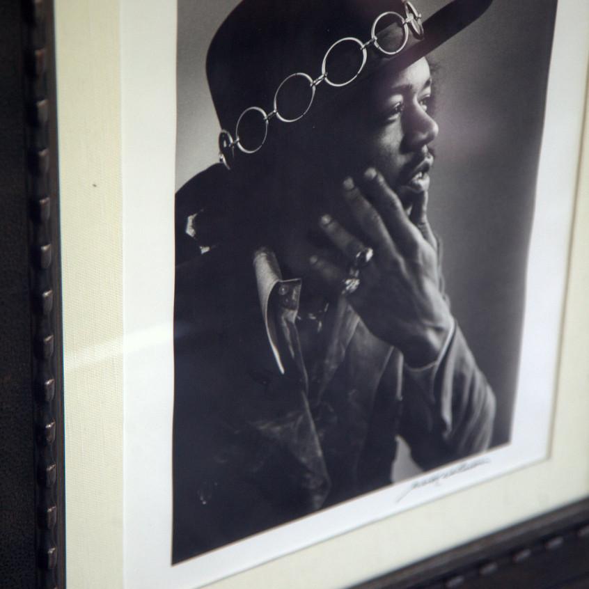 Jimi Hendrix Pics on Display at Hard Rock San Diego