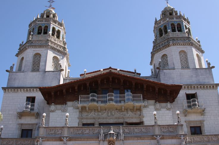 Twin Guest Wedding Tower rooms at Hearst Castle