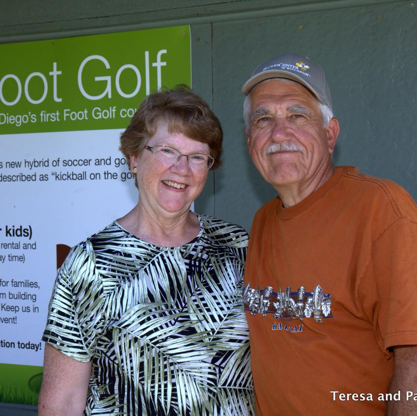 Couple enjoy Golf Lessons at Welk Resort San Diego