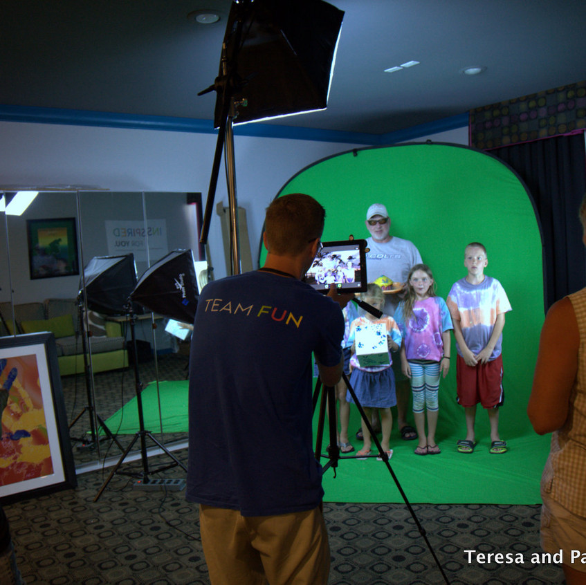 Filming Cupcake Wars Commercial at Activity Center at Welk Resort San Diego