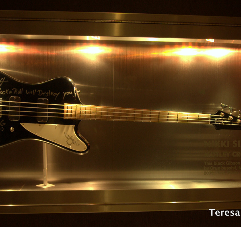 Famous Musicians Guitars and more on display at Hard Rock San Diego Hotel!