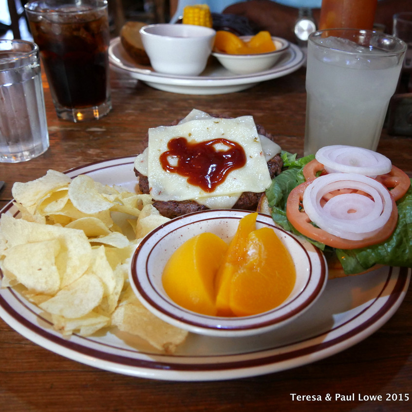A Meal  at the Grand Canton Western Ranch