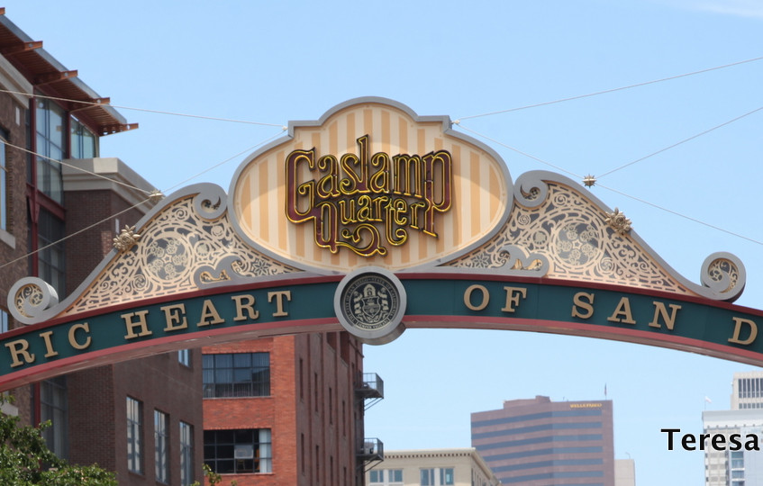 Downtown San Diego Gaslamp District