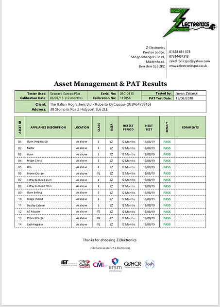 PAT Test Certificate PG 2  2018-2019.jpg