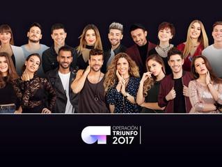 """""""Operación Triunfo 2017"""", the substitute of """"Objetivo Eurovisión"""""""