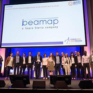 Trophée d'EuroCloud France BEAMAP