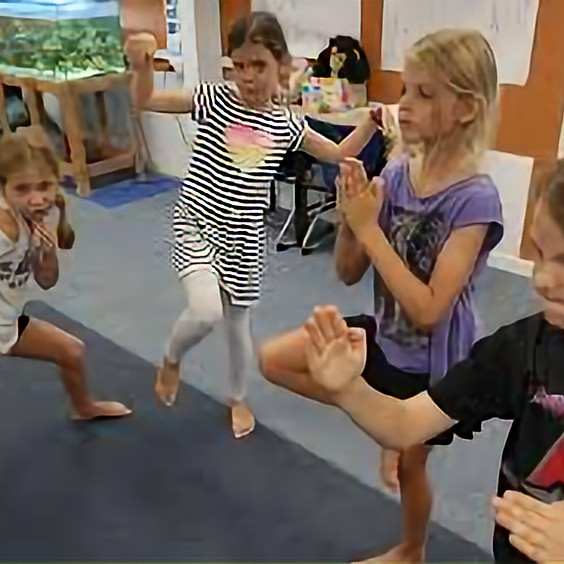 Karate Games (Ages 4-7)
