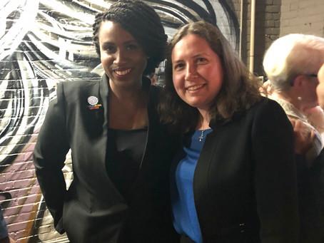 Ayanna Pressley endorses Kenzie Bok for Boston City Council