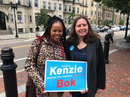 Kim Janey Endorses Kenzie