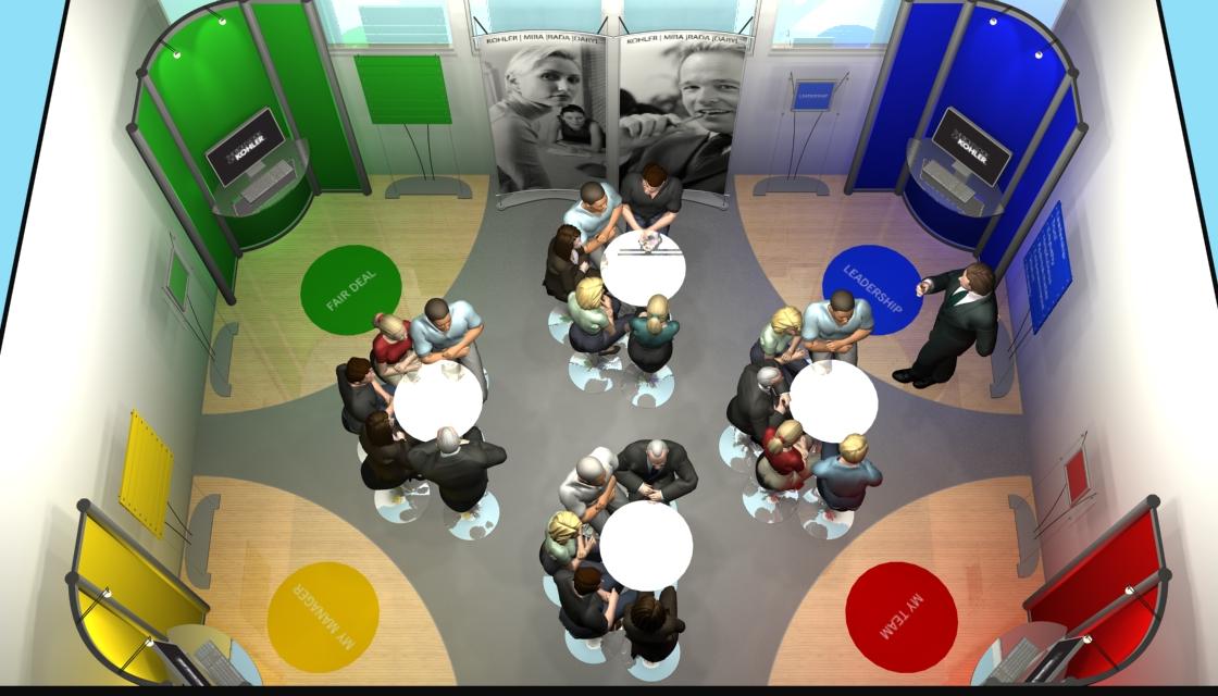 Kohler - Staff monthly briefing room