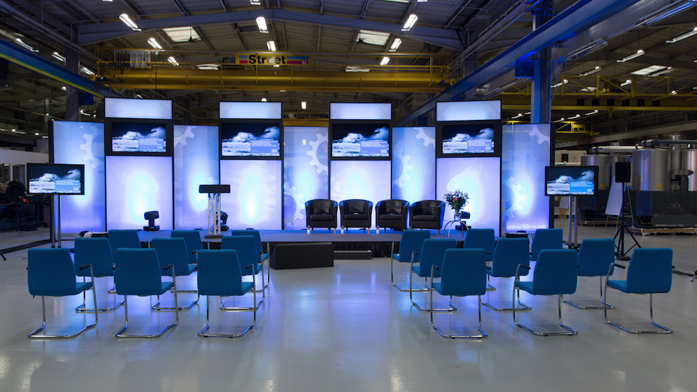 Atlas Copco factory press launch