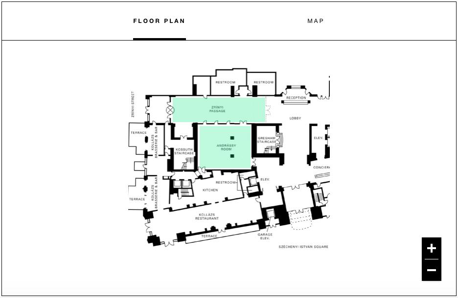 4 Seasons Budapest floor plan
