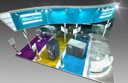 Atlas Copco exhibit roadshow