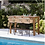 Thumbnail: HAMPSTEAD - Ensemble table haute / 4 fauteuils
