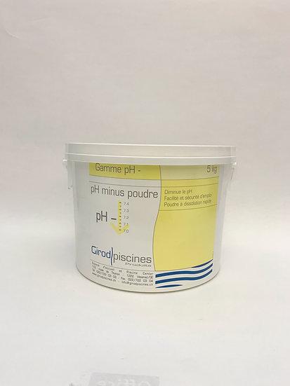 pH minus poudre 5kg