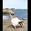 Thumbnail: FAUTEUIL LOUNGE en mélèze huilé gris