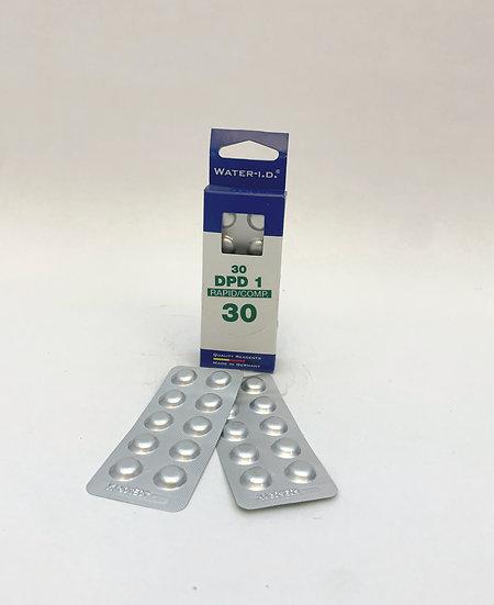 Recharge 30 pastilles chlore