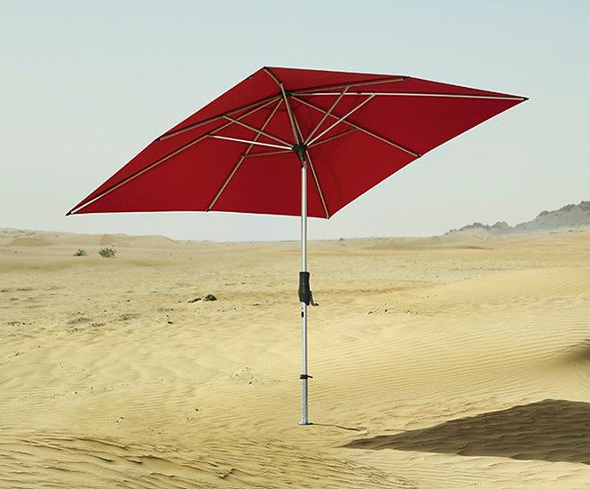 GLATZ - Parasol Alu Twist - Rouge