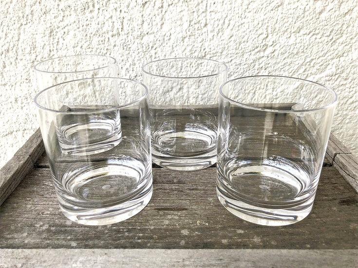 GASPA - verrre à eau - transparent - 4 pièces