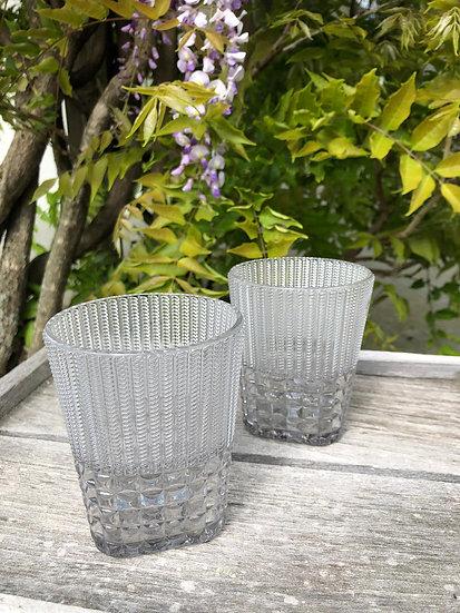 BACI - Verrre à eau Chic - ultra light grey - 6 pièces