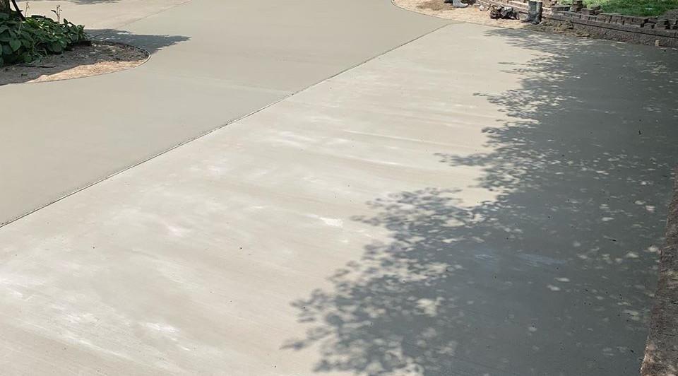 Stunning Concrete Driveway