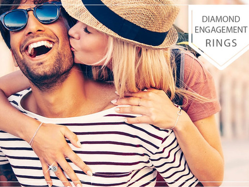 Diamond Engagement Rings - Intrigue and Passion