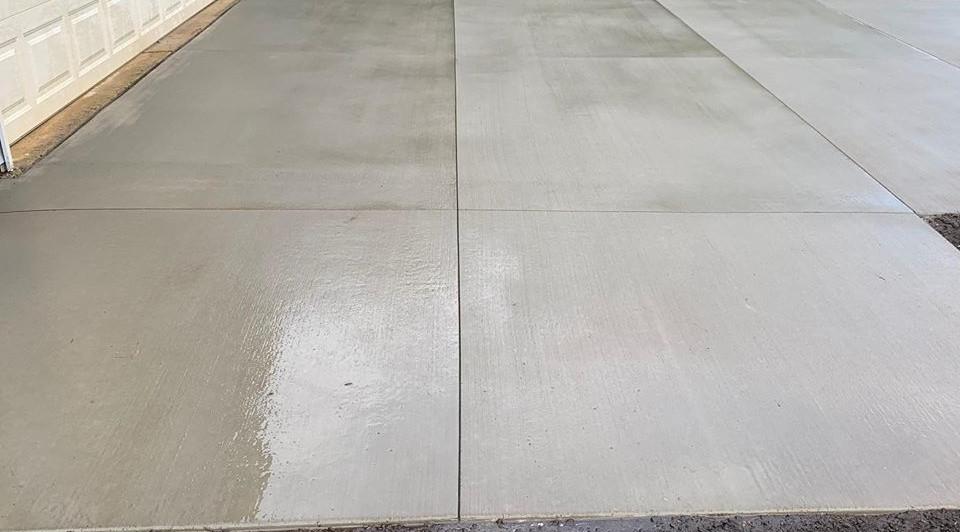 Beautiful Concrete Driveway