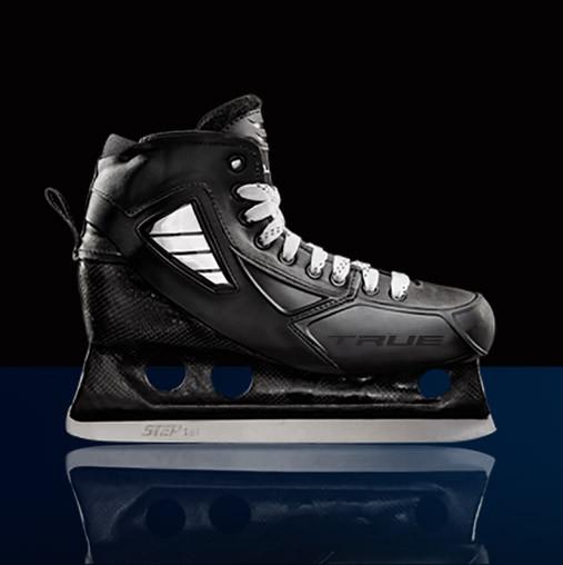 TRUE 1-piece Goalie Skate