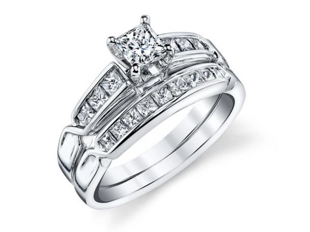 Wedding Set Engagement Ring