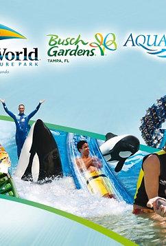 Sea World & Busch Gardens