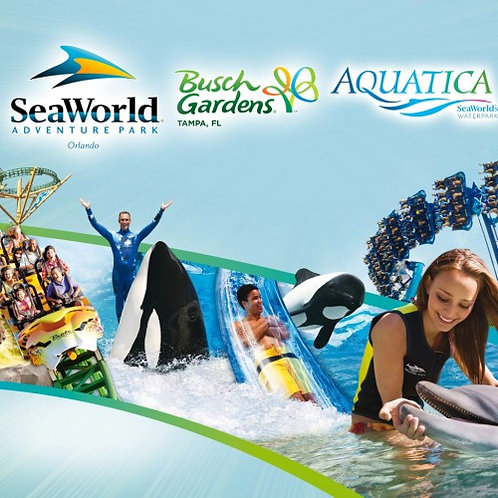 Sea World & Busch Gardens