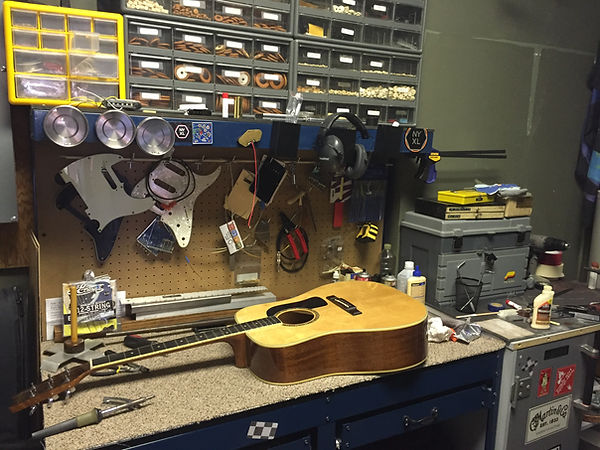 Our repair shop can take care of all your instrument reapir needs