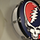 Thumbnail: Handmade Grateful Dead Steal Your Face Drum Decoration